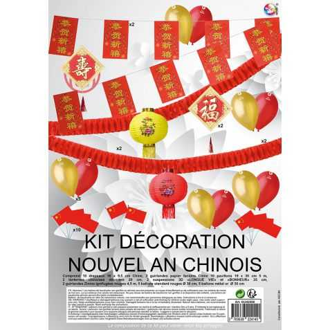Decorations Nouvel An Chinois Kit Deco Nouvel An Chinois 2019