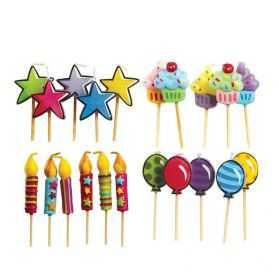 Bougies décoratives pour gateau anniversaire enfant