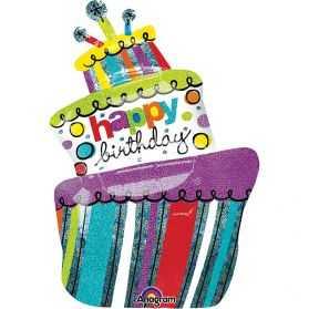 Ballon gonflable en forme de Gâteau d'anniversaire