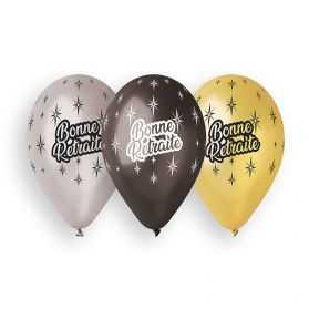 10 Ballons pour Fêter une Bonne Retraite