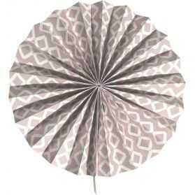 Rosace papier avec motifs