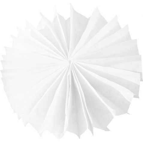 Petites Rosaces papier blanches