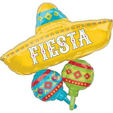 Ballon géant Fiesta