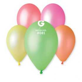 Ballons gonflables Fluo
