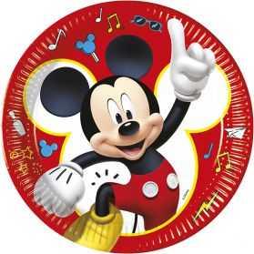 assiettes Mickey en carton