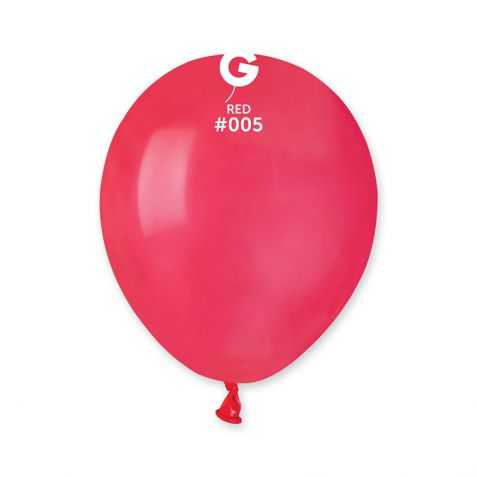 petits ballons gonflables rouges