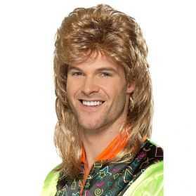 Perruque coupe homme années 80
