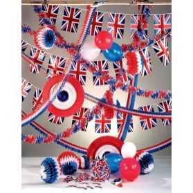 déco anniversaire thème Angleterre