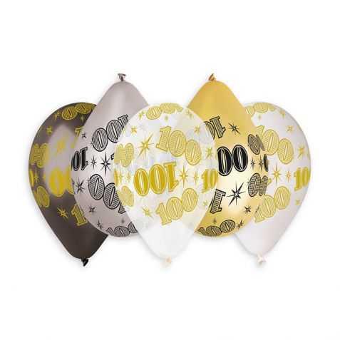 Ballons anniversaire 100 ans