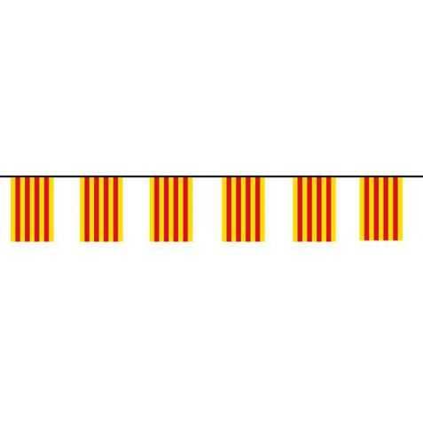 Guirlande drapeau catalan