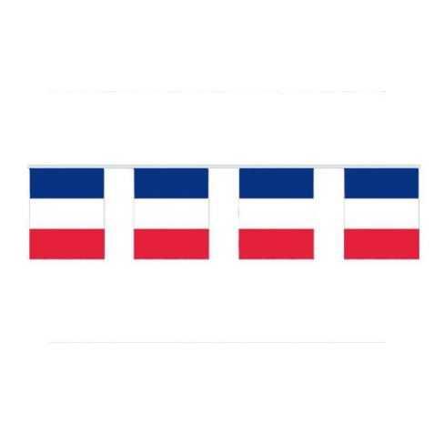 Guirlande à fanions drapeau France