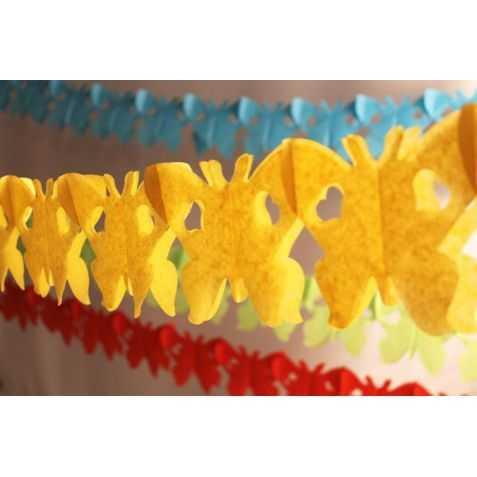 Guirlande Papillons en papier