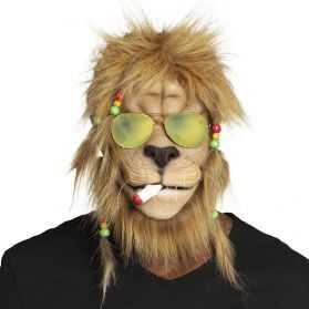 Masque déguisement HIPPIE