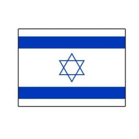 Drapeaux Israel à agiter