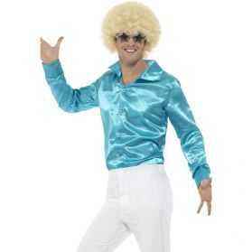 Chemise Disco bleue taille M