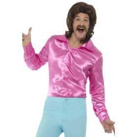 Chemise Disco homme taille L pas chère