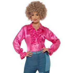 Chemise Disco femme rose