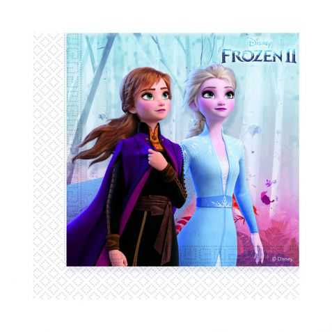 20 serviettes Reine des Neiges 2