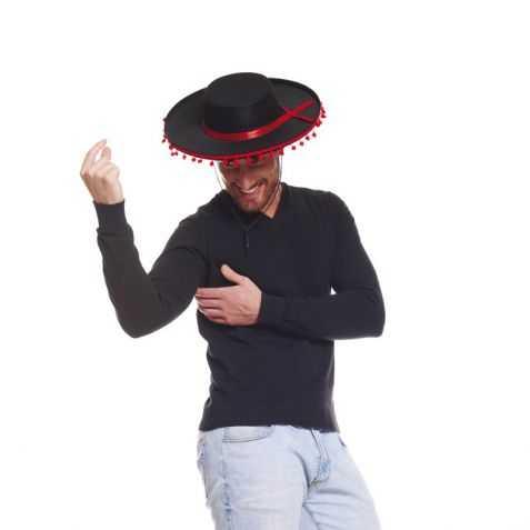 Chapeau danseur flamenco