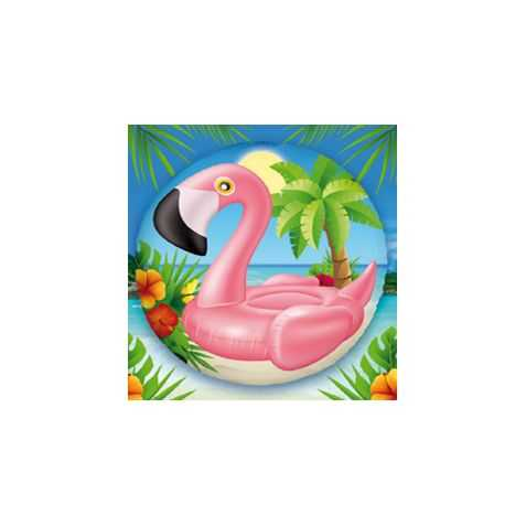 Ballons pour soirée Tropiques