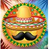 12 Ballons mylar Mexicain