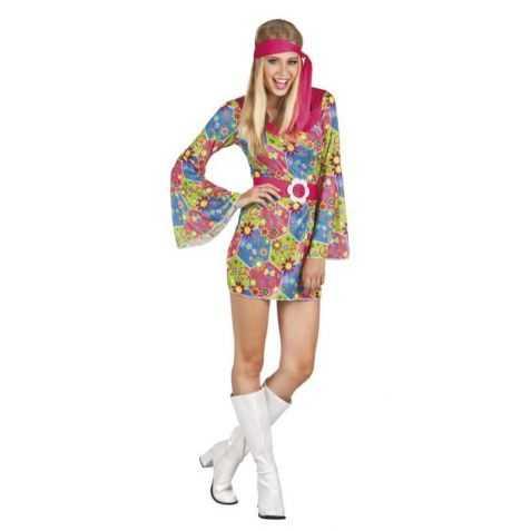 Robe déguisement hippie pas chère