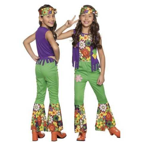 Déguisement Hippie à fleurs