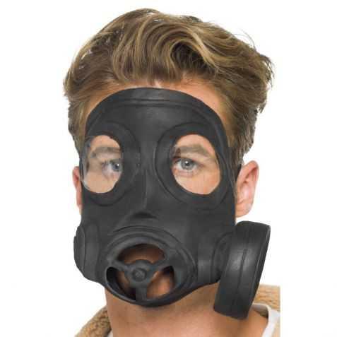 Faux Masque à gaz plastique