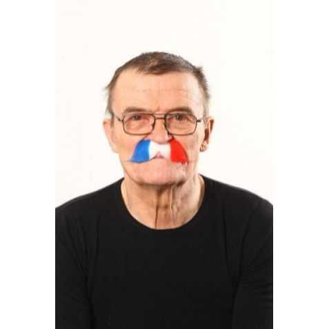 Moustache supporter France