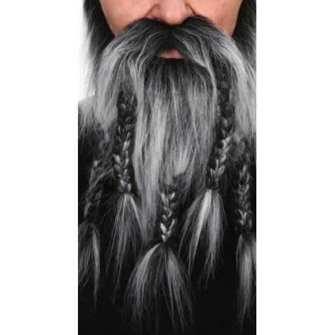 Barbe déguisement de viking
