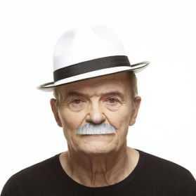Moustache pour se déguiser en mafiosi