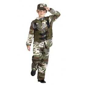 Déguisement soldat enfant