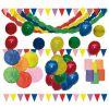 guirlandes et ballons pour fête de l'école