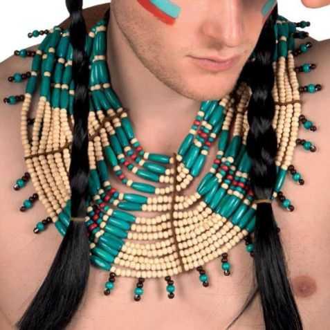 accessoire déguisement Grand Chef indien