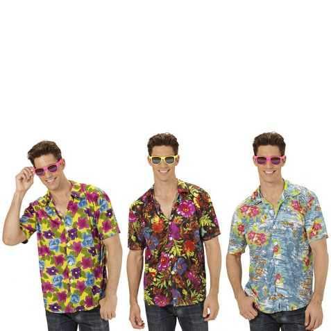 Chemise Hawaïenne à fleurs Taille M/L (existe en 3 modèles)