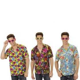 Chemise Hawaïenne à fleurs Taille XL (existe en 3 modèles)