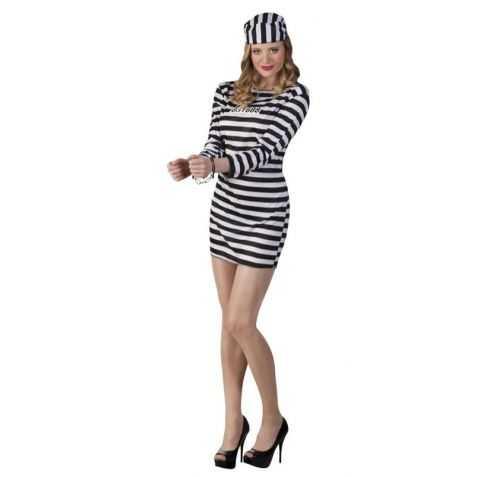 Prison Mariée Costume Femmes bagnard Costume prisonnière Bagnard tailleur