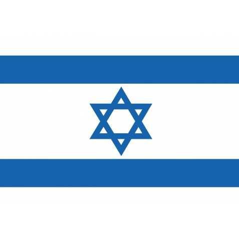 Déco drapeau Israël