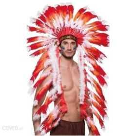 Grande coiffe à plumes pour se déguiser en Grand chef indien