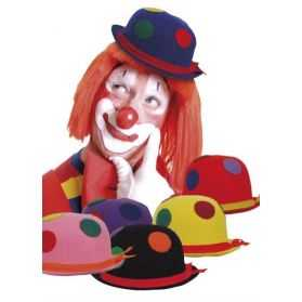 Chapeau Clown en feutrine