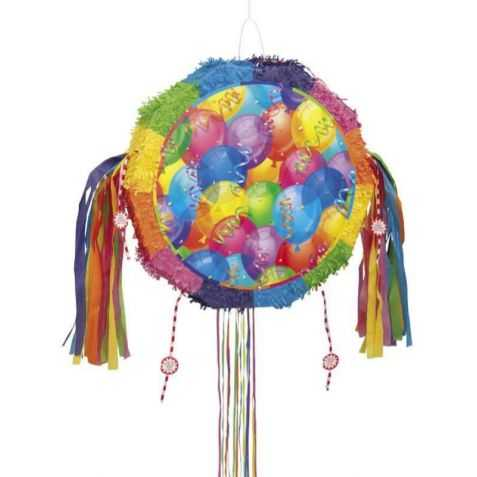 Pinata avec motif Ballons