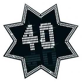 Idée déco anniversaire 40 ANS