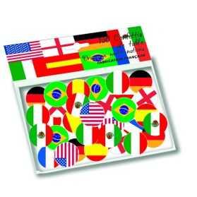 déco de table thème Tour du Monde