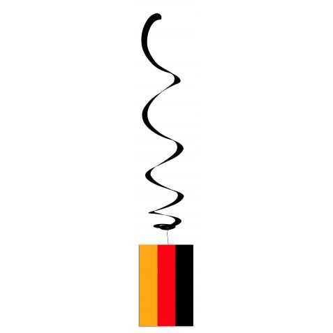 déco de salle aux couleurs du drapeau allemand