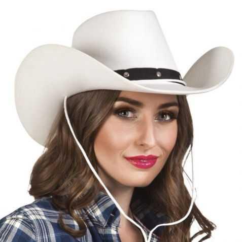 Chapeau invités soirée western