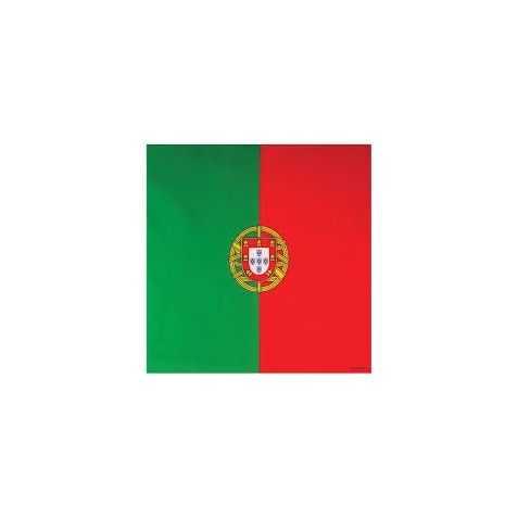 Bandana avec motif du drapeau portugais