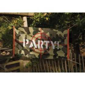 Pavillon pour soirée à thème Commando Militaire