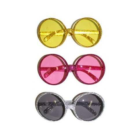 lunettes rondes pas chères pour faire la fête