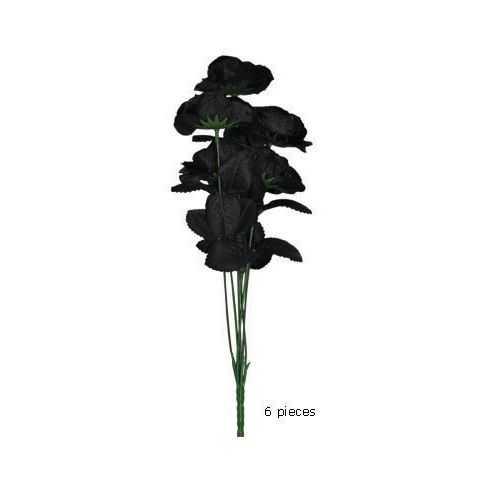 Bouquet morbide de Roses noires