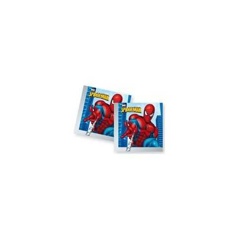 20 serviettes papier Spiderman